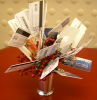 Family reunion gifts gift cards can be used in various capacitiessingle gift card gift card bouquets gift card trees etc negle Gallery